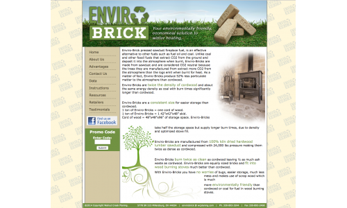 Home Page for envirobrick.net
