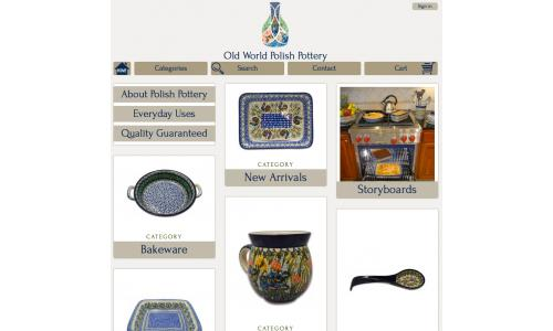 Old World Polish Pottery - Home Page